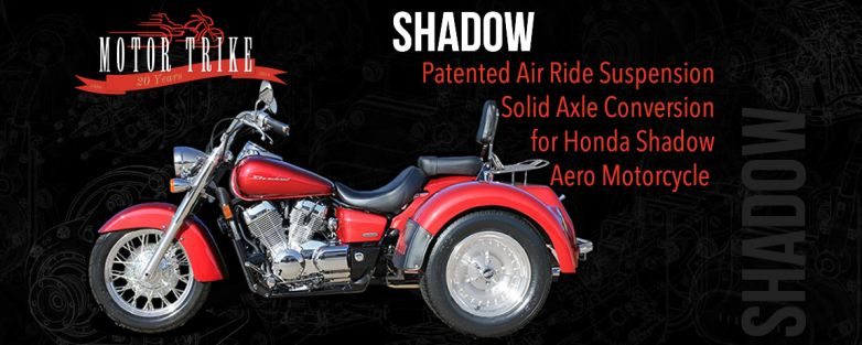 Honda Shadow VT750 Trike Conversion (DOES NOT INCLUDE DONOR MOTORCYCLE OR OPTIONS)