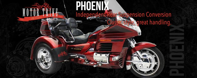Phoenix Honda GL 1500 Gold Wing Motorcycle Trike Conversion (DOES NOT INCLUDE DONOR MOTORCYCLE OR OPTIONS)